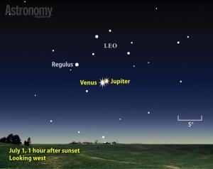 Sky 07.01.15 Venus Jupiter