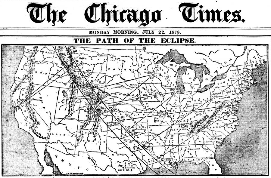 Eclipse July 1878