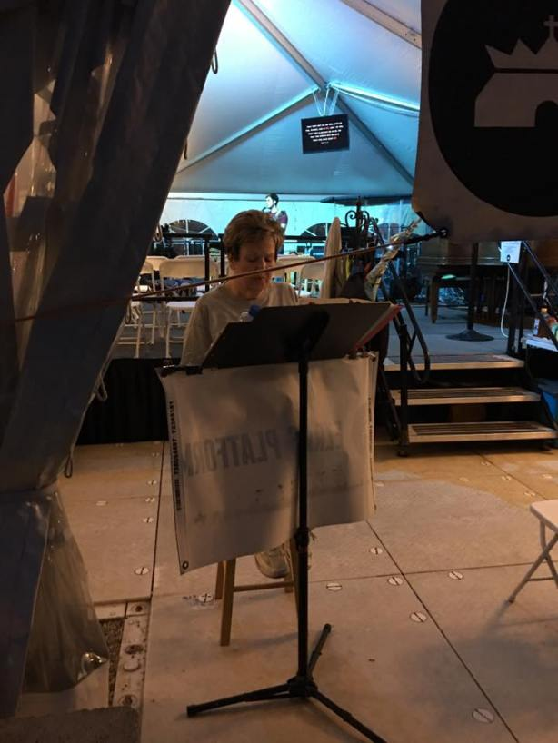 Bible Reading At Davids Tent DC