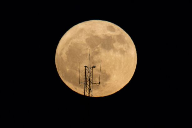 Israel Supermoon Dec 3 2017