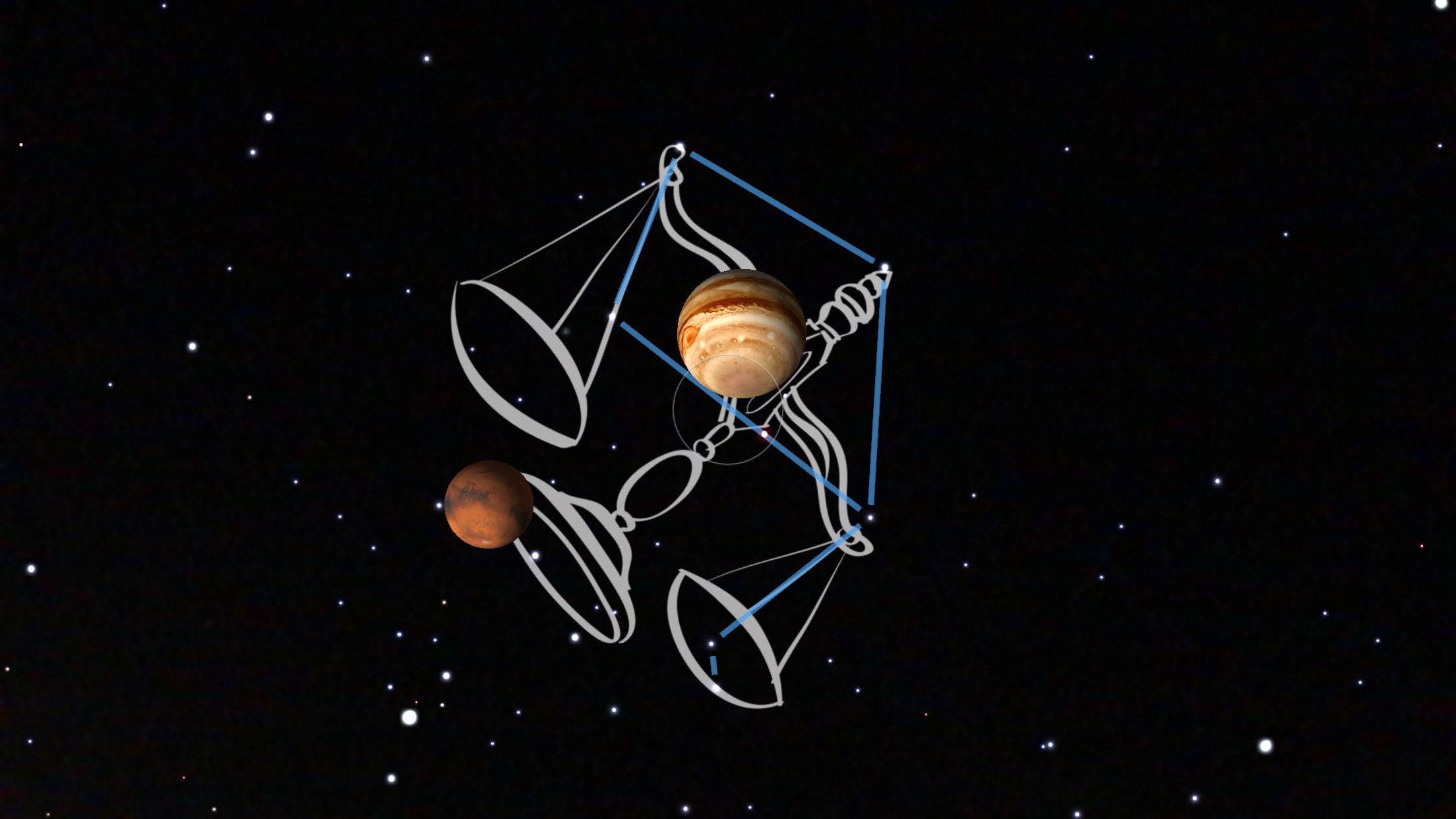 Jan 31 2018 The Scales Jupiter and Mars